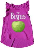 Rowdy Sprout Beatles Apple Flutter Tank Dress - Pink, Size 3-6m