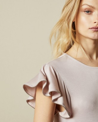 Ted Baker Frill Sleeve Detail Top