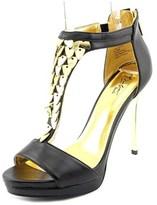 Thalia Sodi Anastasia Open Toe Synthetic Platform Sandal.