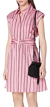 Derek Lam 10 Crosby Cora Striped Shirt Dress