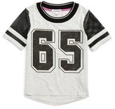 Ten Sixty Sherman Girl's Mesh Sleeve Graphic Tee