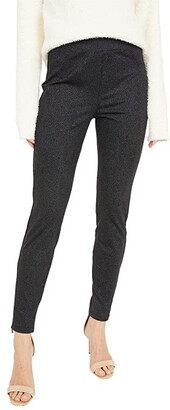 Sanctuary Runway Ponte Leggings with Functional Pockets (Micro Spots) Women's Casual Pants