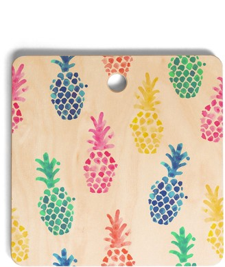 Deny Designs Dash and Ash Pineapple Cutting Board