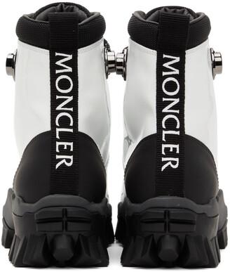 Moncler White & Black Helis Boots