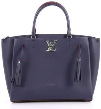 Louis Vuitton Top Handle Lockmeto Navy Blue