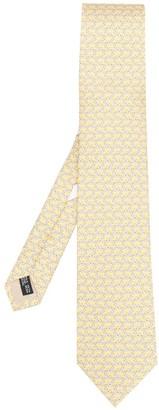 Salvatore Ferragamo Zebra Print Tie