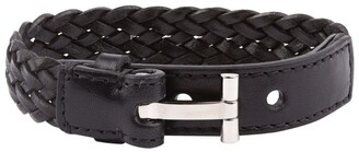 Tom Ford Leather Braided Bracelet