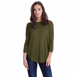 Only Women's Onlsky String 3/4 Pullover KNT Noos Sweater