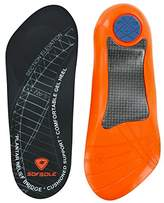 Sof Sole Plantar Fascia Gel Shoe Insole for Heel Spurs and Plantar Fasciitis