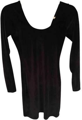 American Apparel Black Velvet Dress for Women