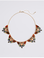 M&S Collection Resin Floral Necklace
