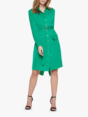 Damsel in a Dress Tulia Tunic Shirt Dress, Green