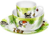 Zwilling J.A. Henckels Twin Kids Jungle Porcelain Dinnerware Set - 3 pc
