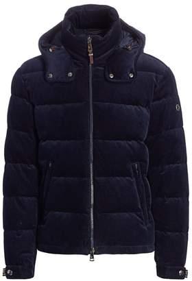 Ralph Lauren Purple Label Skidmore Quilted Corduroy Down Jacket