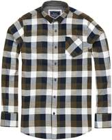 Brave Soul Mens Persuader Long Sleeve Check Shirt (M)