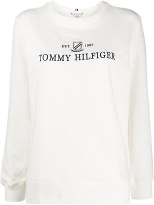 Tommy Hilfiger logo print sweatshirt