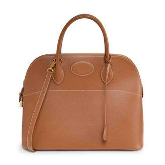 Hermes Bolide Camel Leather Handbags