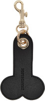 J.W.Anderson Ssense Exclusive Black and White Penis Keychain