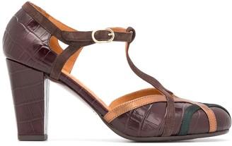 Chie Mihara Korea block heel pumps