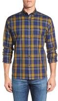 Maker & Company Men's Plaid Sport Shirt