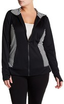 Z By Zella Front Zip Jacket (Plus Size)