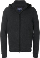 Woolrich zipped knit hoodie