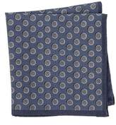 Ted Baker Dot Silk Pocket Square
