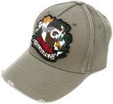 DSQUARED2 Lumberjack patch baseball cap - men - Cotton - One Size