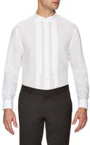 Linen Wingtip Collar Tuxedo Shirt