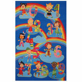 Asstd National Brand Kids & Numbers Rectangle Rugs