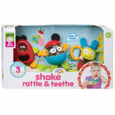 Alex Jr Shake Rattle And Teethe 3-pc. Interactive Toy