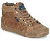 Victoria BOTA PIEL PU PARCHES Brown