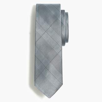 J.Crew Silk glen plaid tie