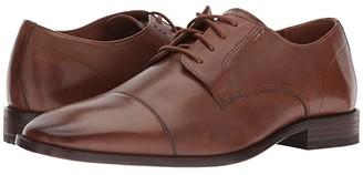 Bostonian Nantasket Cap (Dark Tan Leather) Men's Shoes