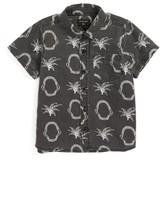Quiksilver Boy's Tropkill Print Woven Shirt