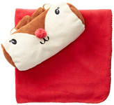 Paul Frank Reindeer Plush Pouch & Blanket 2-Piece Set