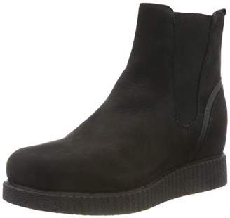 Unisa Women's Cebil_f19_blu_nt Chelsea Boots, Black (Black Black)