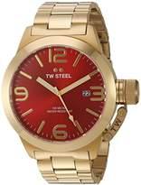 TW Steel Men's CB112 Analog Display Quartz Gold Watch