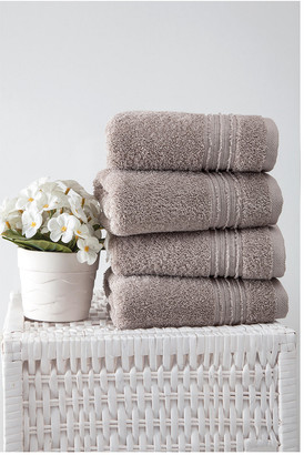 OZAN PREMIUM HOME Cascade Hand Towels Set Of 4