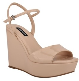 Nine West Women's Kinda Platform Wedges Women's Shoes