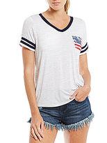 Moa Moa Flag-Pocket Americana Short-Sleeve Tee
