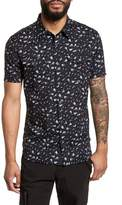 John Varvatos Extra Slim Fit Print Sport Shirt