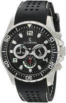 Le Château Men's 7072mssrub_blk Sport Dinamica Chronograph Watch