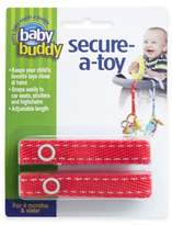 Baby Buddy Secure-a-Toy Straps in Red/White (Set of 2)
