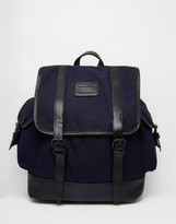 French Connection Canvas Backpack