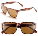 Smith Optics Women's 'Tioga' 57Mm Polarized Sunglasses - Matte Black/ Polar Gray Green