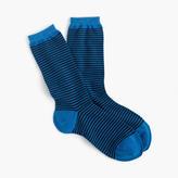 J.Crew Trouser socks in thin stripes