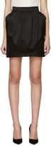Pierre Balmain Black Pleated Skirt