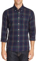 Barbour Seth Plaid Flannel Regular Fit Button Down Shirt