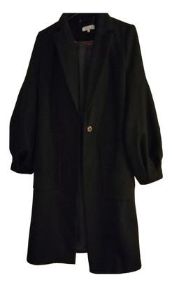 Preen Black Wool Coats